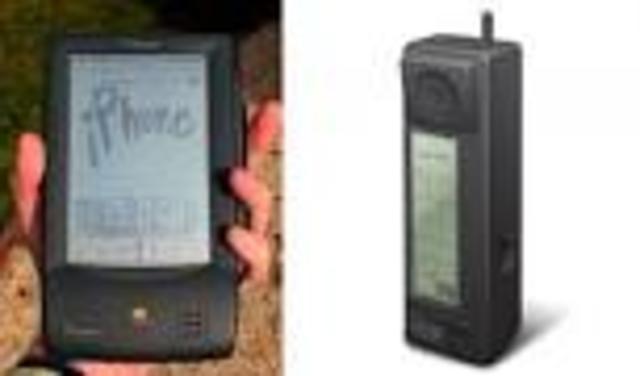 Primer celular con pantalla Touch