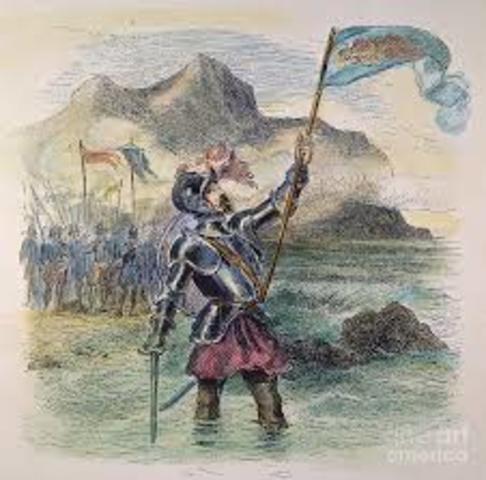 """1513 Vasco Núñez de Balboa atraviesa el istmo de Panamá y contempla el """"mar del sur"""" u Océano Pacífico.- Maquiavelo escribe El Príncipe.- Muere el Papa Julio II y le sucede León X, de la familia de los Médicis."""