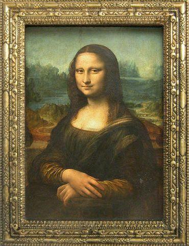 1502 Leonardo Da Vinci pinta La Gioconda.