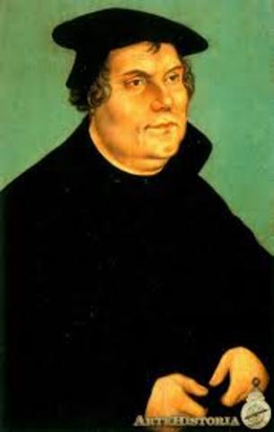 Muere Martin Lutero en Eistebe . La confederacion protestante de Smalkalda es vecida por Carlos V. El español Miguel Servet publica su Chritiaisimi restiutio, libro opuesto al calviismo