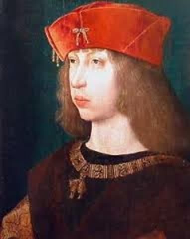 1552. Felipe heredero del trono español, convoca Cortes generales en Monzon.