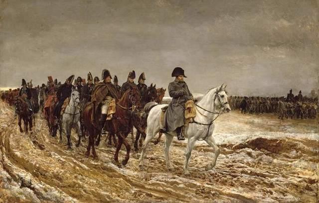 1807. Campaña de Napoleon en Europa Oriental, vence a los prusianos en Eylau, y alos rusos en Friendland.