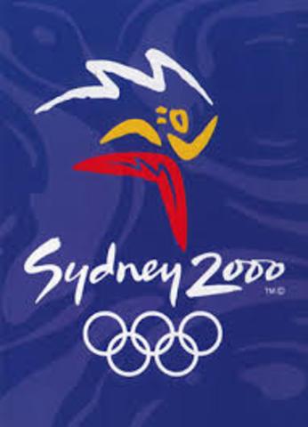 2000. Olimpiadas de Sydney, Australia.