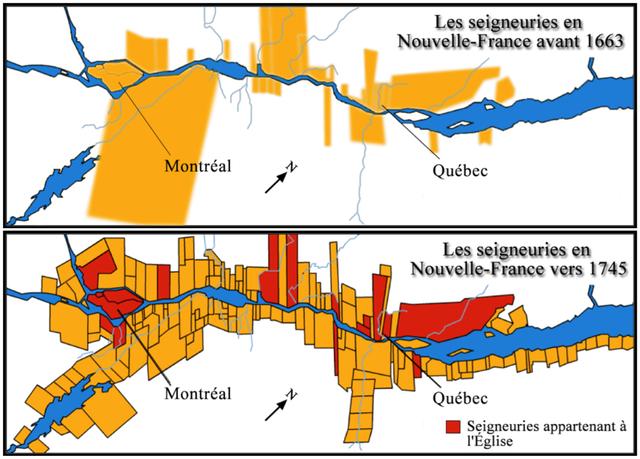 Établissement du régime seigneurial en Nouvelle-France