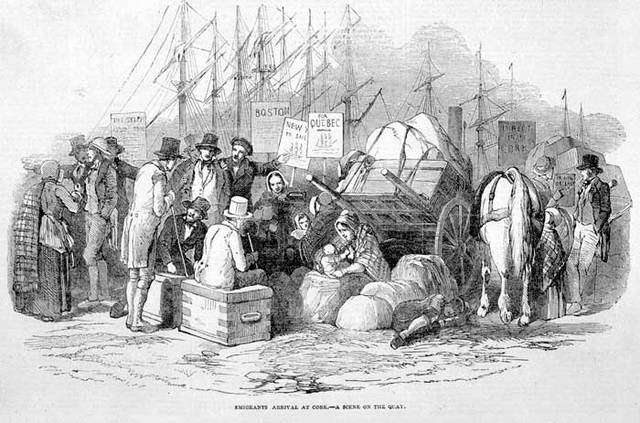 Vague d'immigration d'Irlandais au Québec