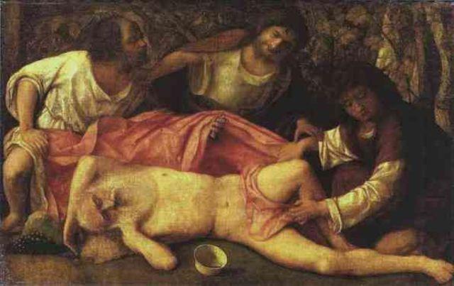 Noah Plants a Vineyard and Gets Drunk
