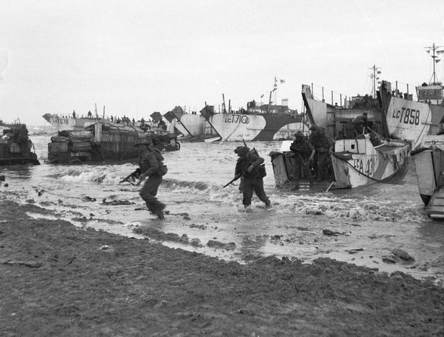D-Day (Normandy Invasion - 1944)