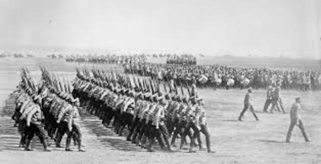 Russia Mobilizes (WWI)