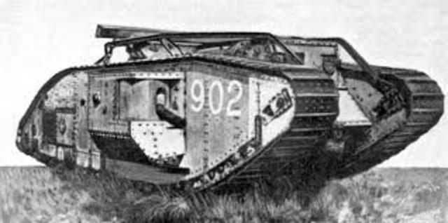 First use of Tanks (WW1)