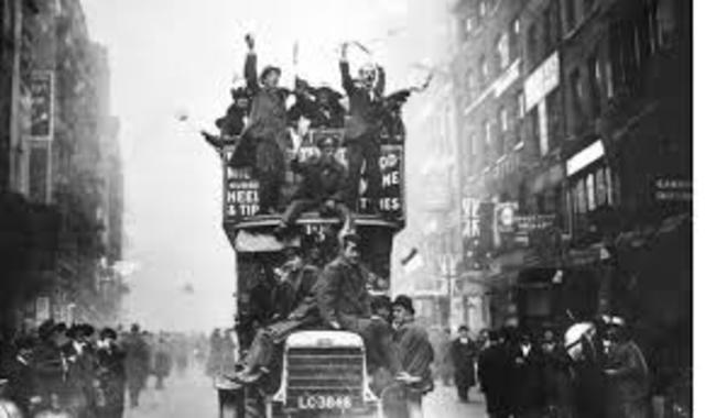 Armistice - End of WW1