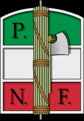 Transformació dels Fasci en el Partit Nacional Feixista.