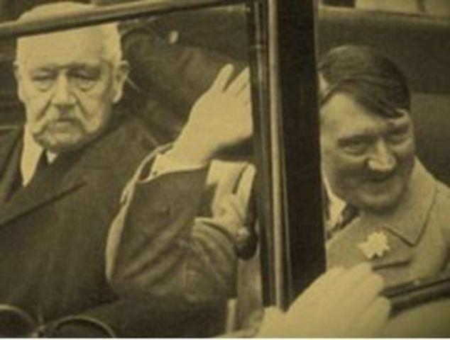 1932 Hindenburg i Hitler