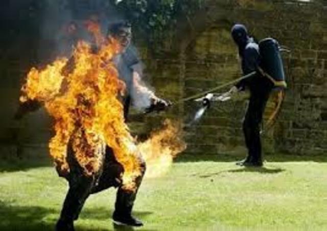 """We never burned right…"" (Bradbury 113)"