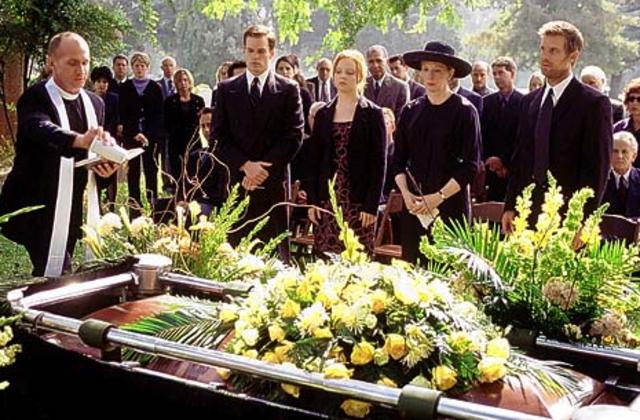 """""""Everyone must leave something behind when he dies."""" (Bradbury 149)"""