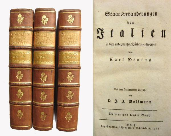 D. J. J. Volkmann, Historisch-kritische Nachrichten von Italien