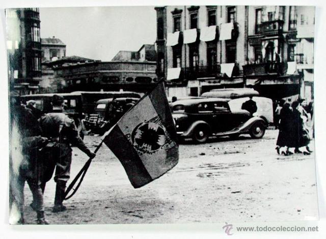 El bando nacional toma Gijón. Todo el norte queda en manos de los rebeldes