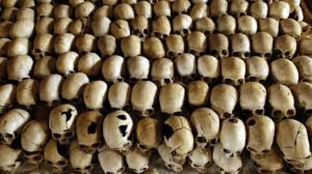 End of Rwandan Genocide