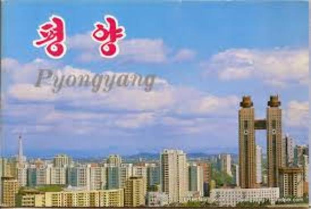 US reaches Pyongyang