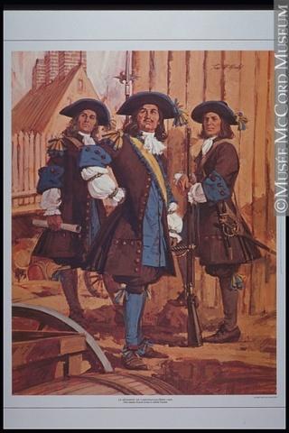 Arrivée du régiment Carignan-Salières à Québec