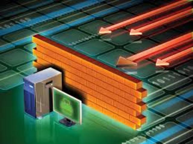 Se crea el concepto de firewall