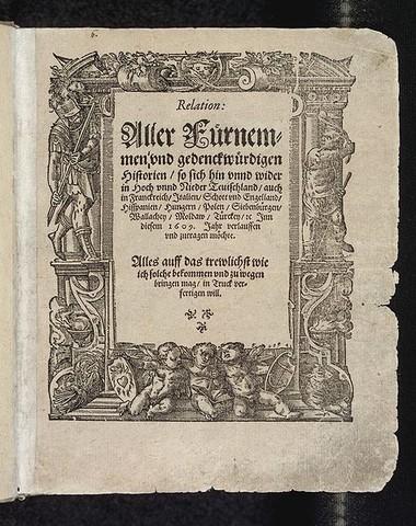 Primer periódico del Mundo