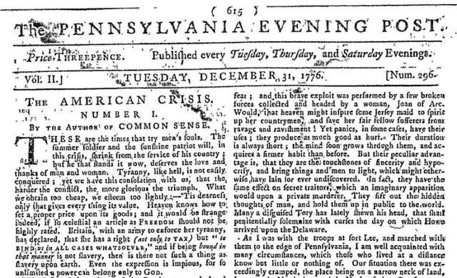 Primer diario estadounidense
