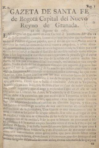 Gazeta de Bogota