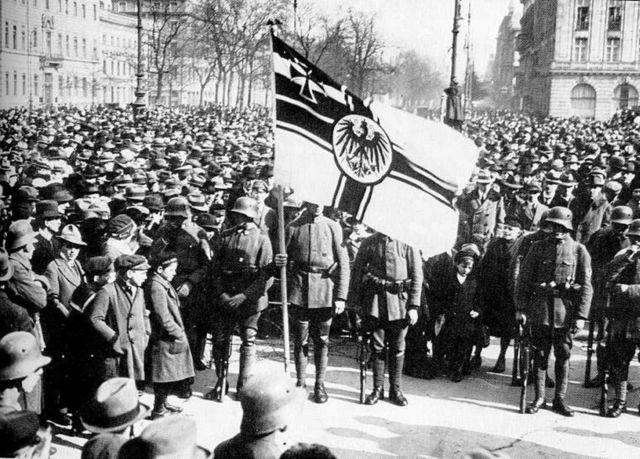 Cop d'estat per part del partit Nazi, (putsch de Munic)