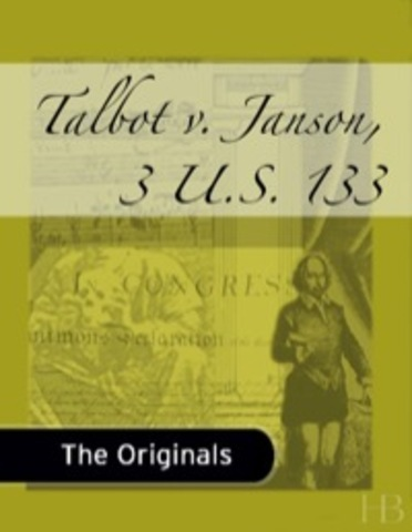 Talbot v Janson