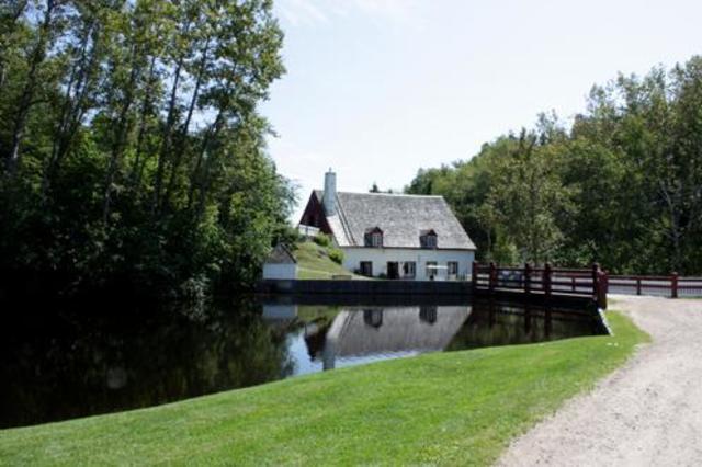 Moulin seigneurial des Éboulements