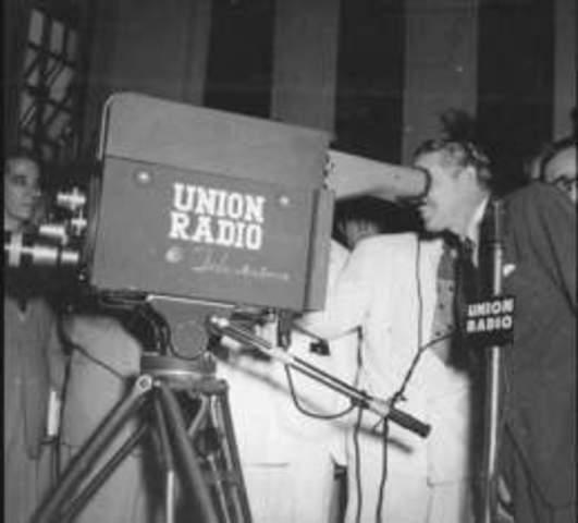 Primera televisión en Latinoamerica