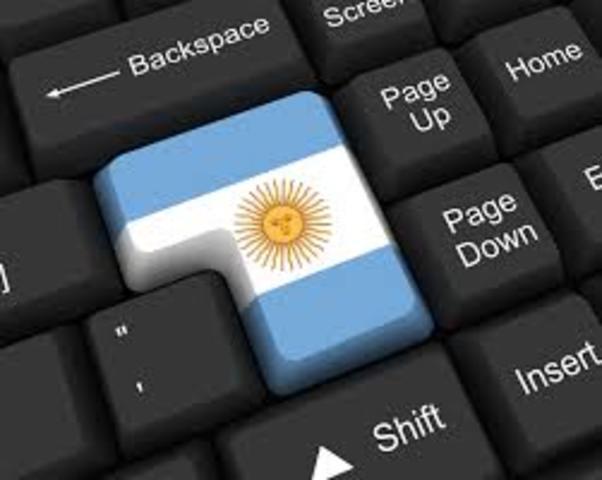 Primera llega a internet en Latinoamérica