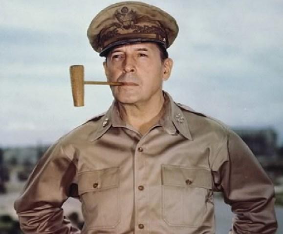 General MacArthor Resigns