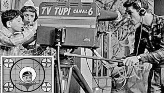 Televisión en Brasil