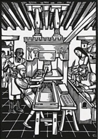 Primera imprenta en Brasil