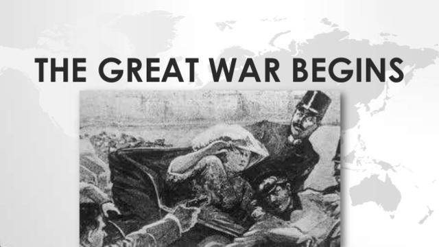 World War One Begins