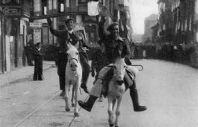El bando nacional toma Gijón