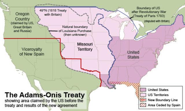 Adams - Onis - Treaty