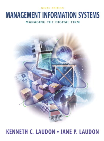 Management Information System _(MIS)