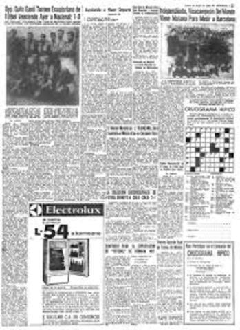 Primer diario en el Ecuador