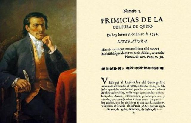 El primer periódico de Ecuador