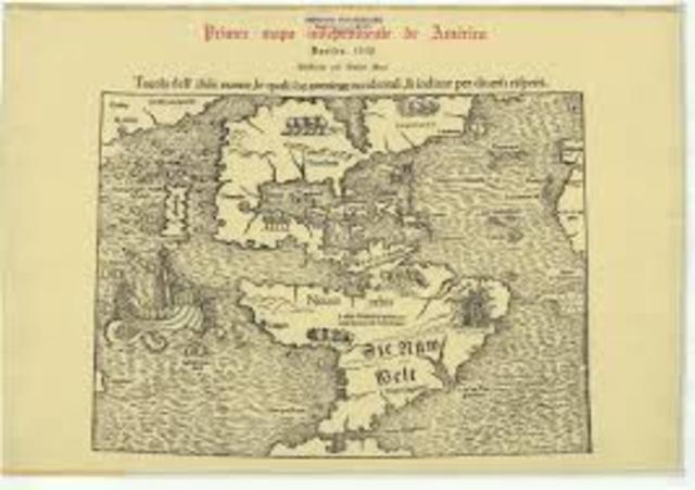 Primer mapa impreso