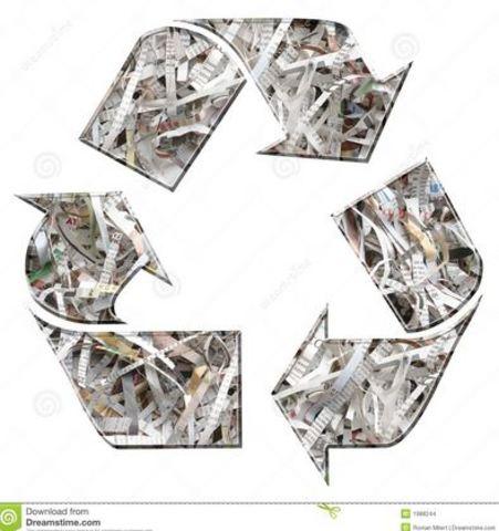 primer reciclaje conocido