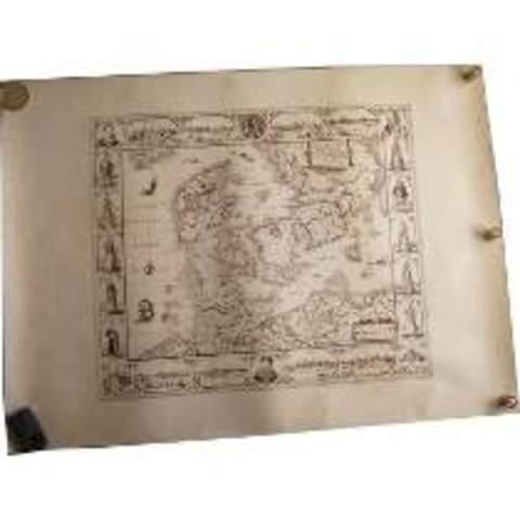 Los mapas se empiezan a imprimir