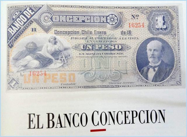 Se funda Banco de Concepción.