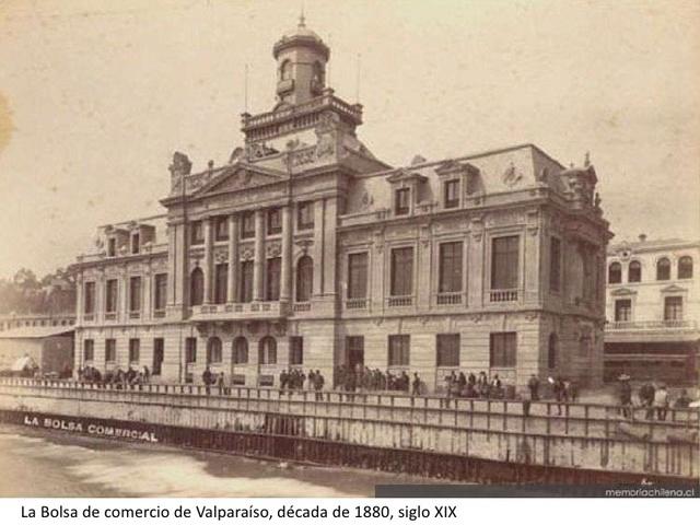 Se iniciaron las primeras actividades de corretaje en Chile.