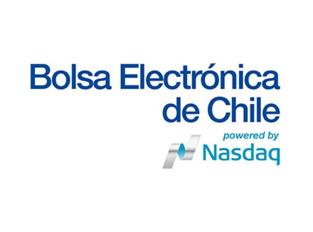 Comienza a operar la bolsa electrónica de Chile.