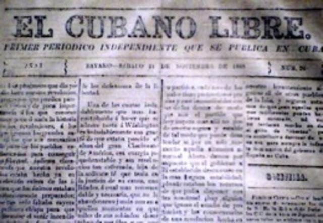 Primer periódico independiente en Cuba