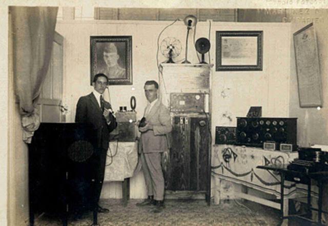 Primera radio en Cuba
