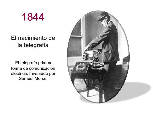 El nacimiento de la TELEGRAFÍA